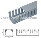 Wiring duct(slotted), cable duct, trunking