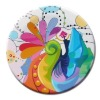 absorbent paper coaster( 85*85*2mm)LIS-210