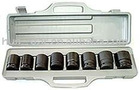 "8pcs 3/8"" deep air impact socket set,auto repair tool set"