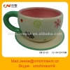 Customized ice cream ceramic coffee cup