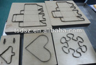 co2 laser cutting die board machine
