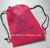 190D drawstring shopping bag, promotional eco shopping bag