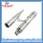 4GB Silver Pen USB 2.0 Flash Drive