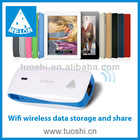 5200mAh rechargeable Li-polymer battery 3g wireless router 3G /Router/AP mode White/Red/Blue/Yellow /6 colours