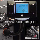 Bluetooth Handsfree FM transmitter Car kit & car FM combo(BT00367)