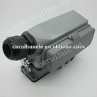 manufacture HDC-HE-024-01DB 24 pins with cover heavy duty 24 pin auto connector