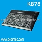 Best Quality 78 Keys Programmable POS Keyboard With Optional Mag Card Reader (KB78)