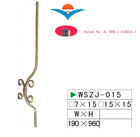 Wrought iron banister parts