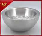 Stainless steel double wall mixing bowl
