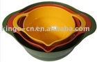 3 PC melamine bowl set
