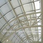 Motorised roof sunshade