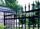 Elegant iron fence
