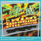 Multi-channels hologram stickers labels