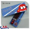 2012 school geometry box new plastic pencil case for kids