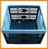 plastic folding laundry basket for easy to carry