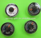 Plastic Mini Thermometer round thermometer
