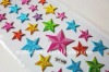 Puffy Sticker With Star Shape For Children