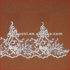 Charming Unique Ivory Shining Embroidery Sequin Lace