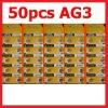 50 X AG3 LR41 392 SR41SW alkaline battery