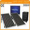 Portable 300W Solar System for Home use with LCD TV