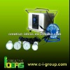 100W multifunction portable solar lighting system