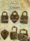 antique key,metal ornamental antique keys,antique key charm