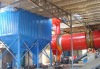 High pressure spraying impulse precipitator