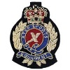 Fashion military India silk embroidery badge