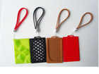 fashion id card holder with lanyard