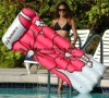 inflatable pool mattress