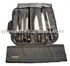 7 pc knife roll set