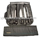 7 pc knife roll set