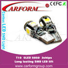 T10 5050 led light head lamps