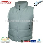 2012 fashion!!! Lady's light blue padded vest(SS-0351)