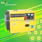 power generator set 5kva silent type