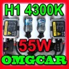 HID XENON conversion Kit 55w H1 4300K Single beam