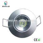 1w round long life energy saving led ceiling downlight