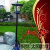 GOOD! Outdoor Garden Solar Light Street Lamp LED Light