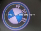 Quality led source 3D welcome light for cars with latest car logo
