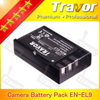 Travor Brand camera battery for nikon enel14