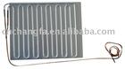 bounding evaporator for refrigerator and ice box
