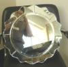 artistic silver mirror
