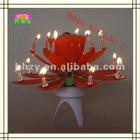 Smart birthday music candle