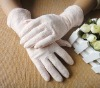 fashion pink lace glove