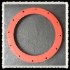 High and low temperature resistant round rubber gasket