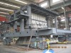 Machine steel structure frame