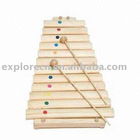 Wooden xylophone toy