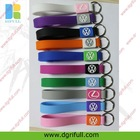 multi-color vw silicone key strap