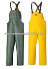PVC/Polyester REVERSIBLE RAIN BIB PANT