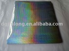 Self adhesive holographic film